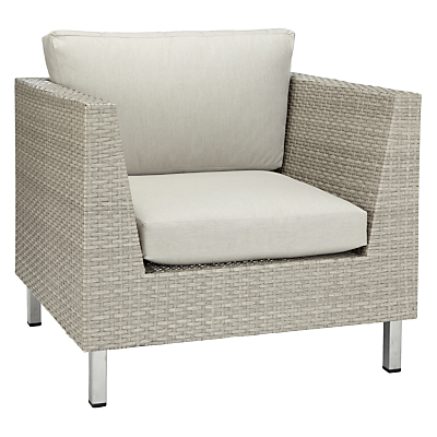 John Lewis Madrid Outdoor Lounging Armchair