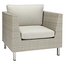 Buy John Lewis Madrid Outdoor Lounging Armchair Online at johnlewis.com