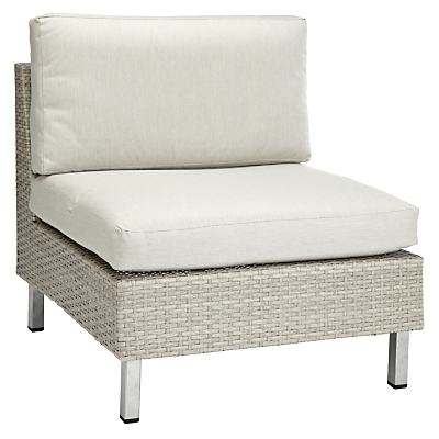 John Lewis Madrid Modular Middle Unit Outdoor Chair