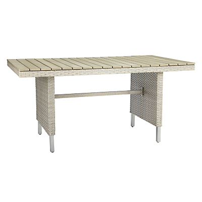 John Lewis Madrid 6-8 Seater Outdoor Dining Table