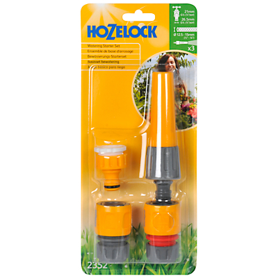 Product photo of Hozelock nozzle fitting starter set