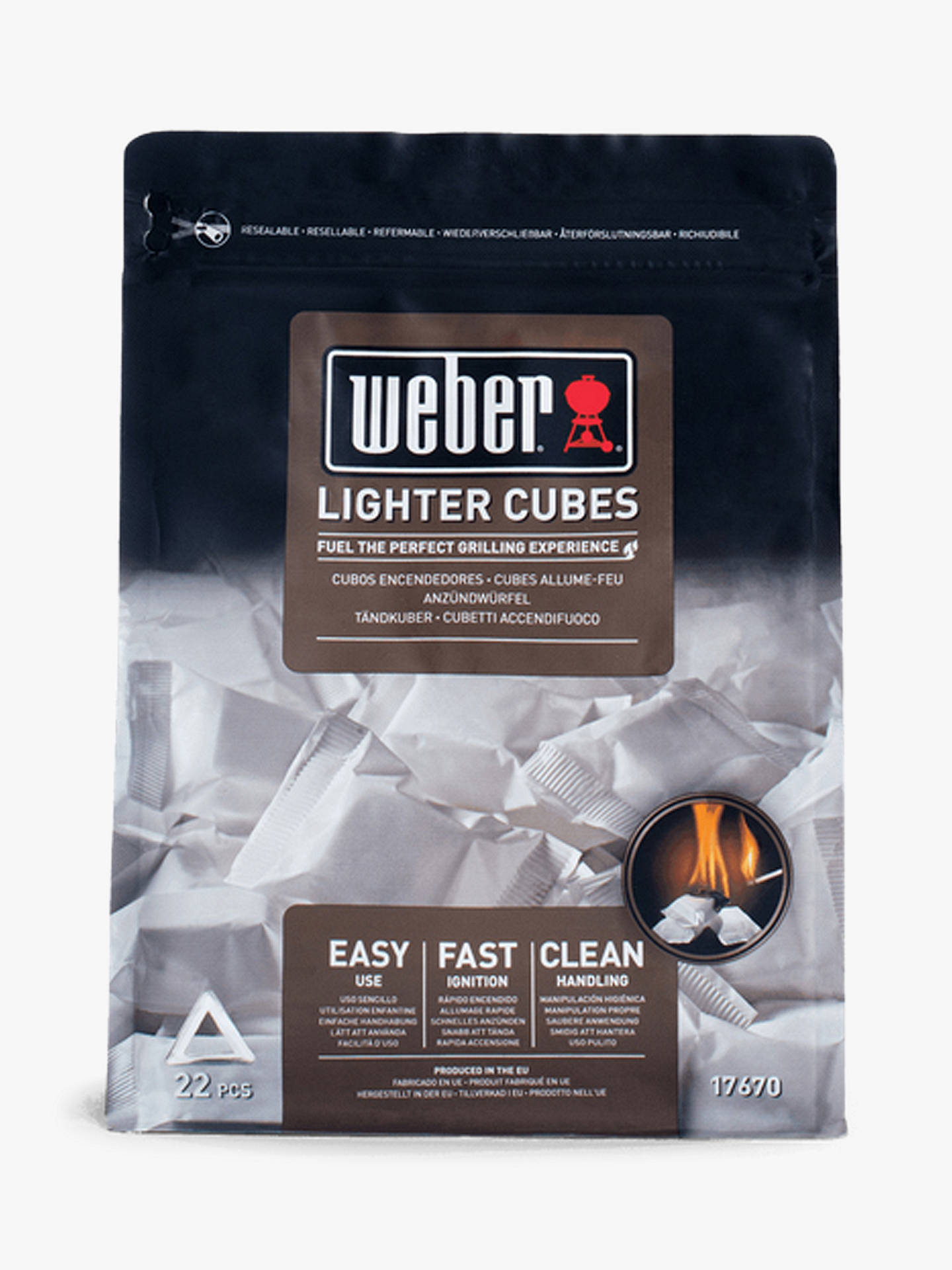 Weber Bbq Lighter Cubes, 417g by Weber