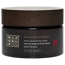 Buy Rituals Samurai 2 In 1 Shaving Cream, 300ml Online at johnlewis.com