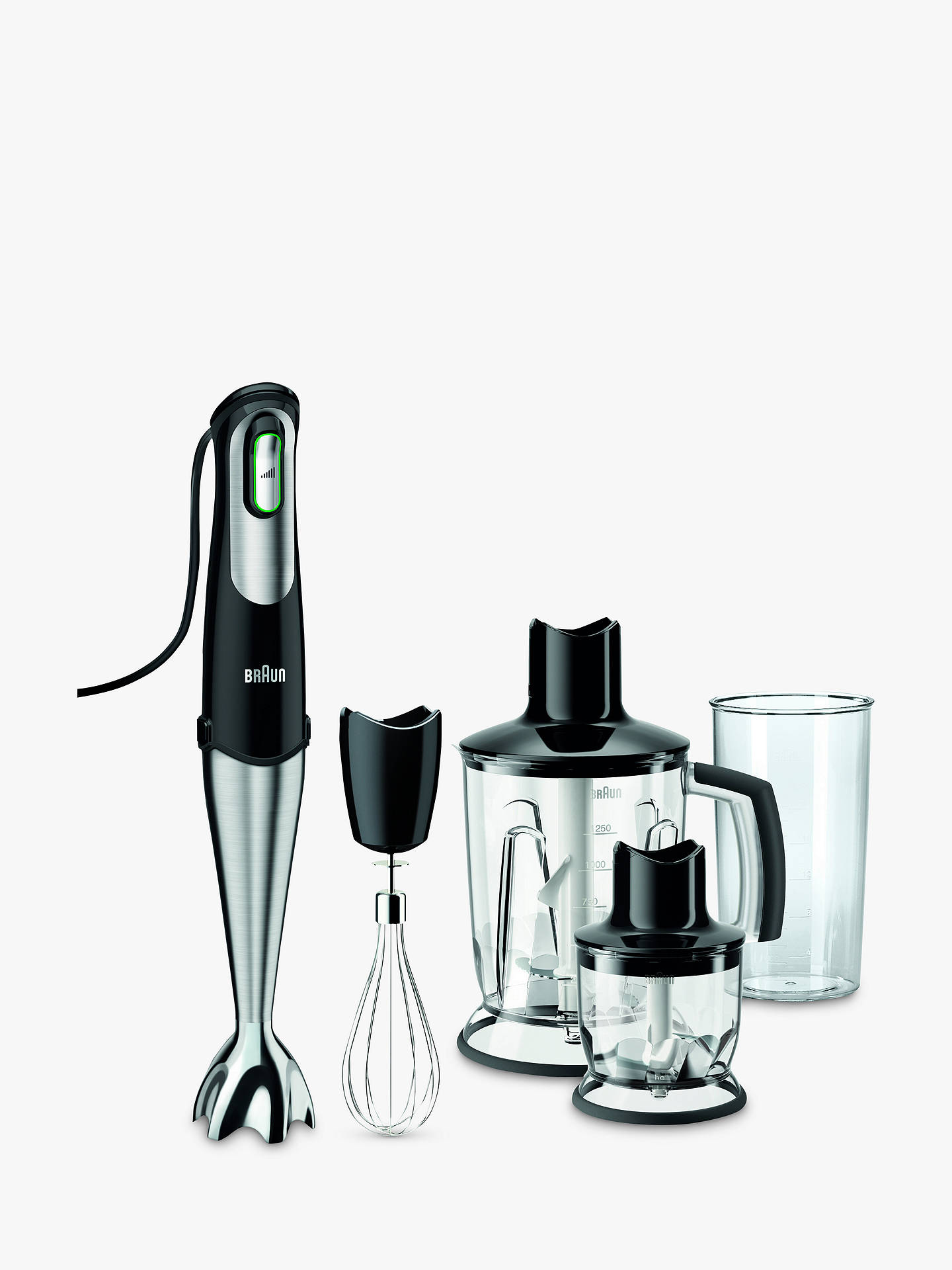 Braun, MQ745, Hand Blender in Black