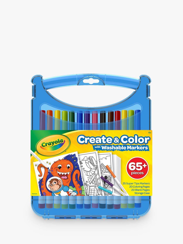 Crayola Crayola Supertips Washable Marker Set
