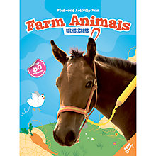 Buy Fold-Out Activity Fun Farm Animals Book & Stickers Online at johnlewis.com