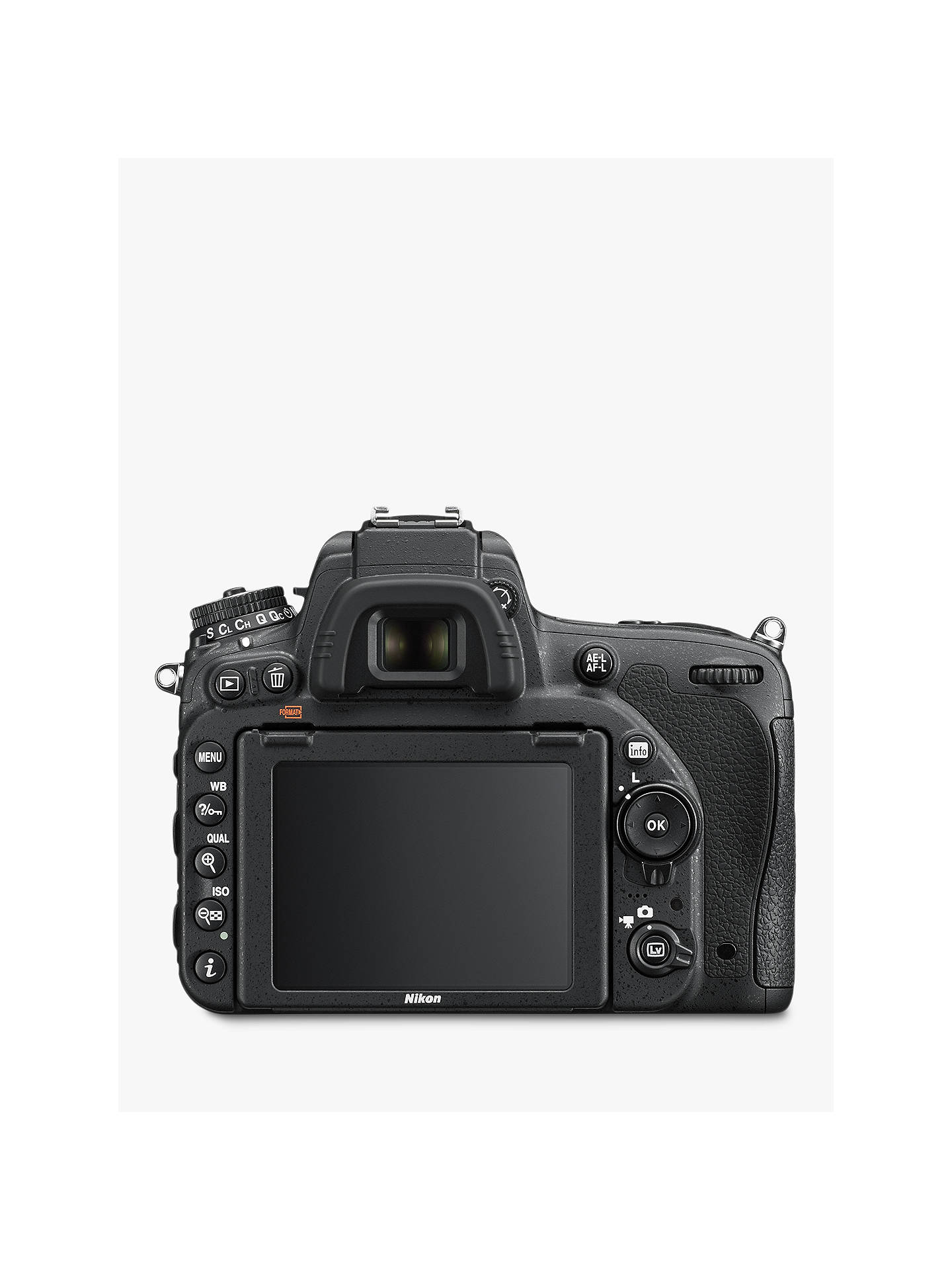 Nikon D750 Digital SLR Camera, HD 1080p, 24 3MP, Wi-Fi, 3 2
