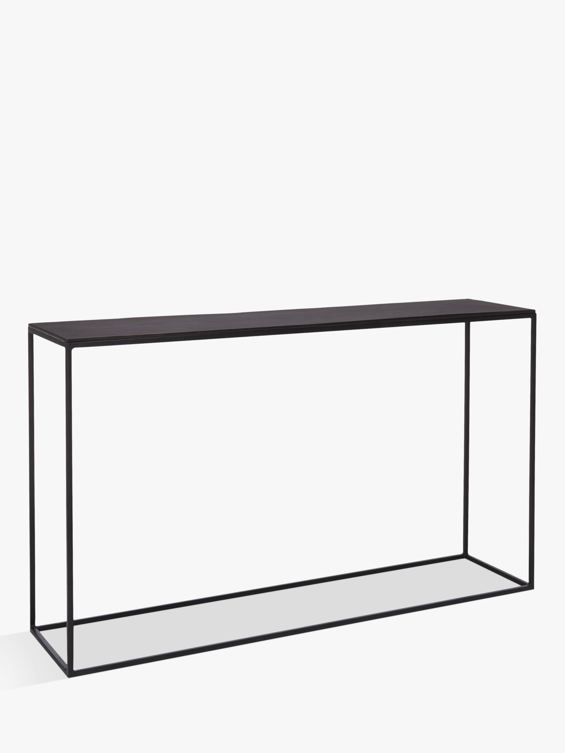 Console Table Oak Glass Console Tables John Lewis