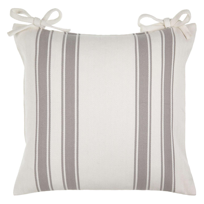 john lewis herringbone stripe seat pad at john lewis. Black Bedroom Furniture Sets. Home Design Ideas