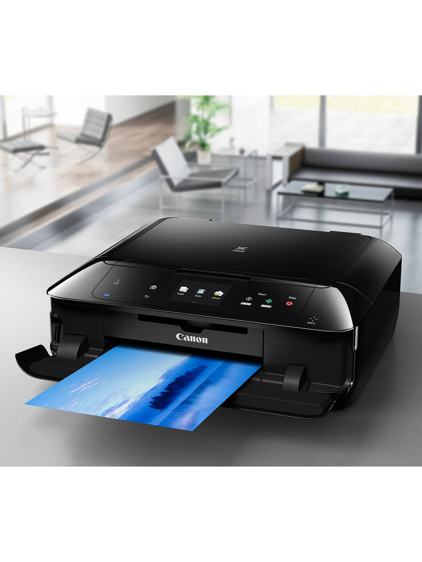 how to connect my canon wireless printer