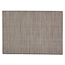Buy John Lewis Polyprop Placemats, Set of 2, Brown Online at johnlewis.com