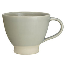 Buy John Lewis Croft Collection Amberley Tea Mug, Natural Online at johnlewis.com