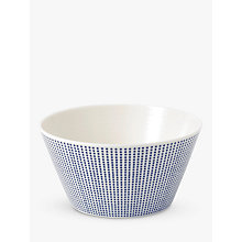 Buy Royal Doulton Pacific Porcelain Cereal Bowl, 640ml, Blue Online at johnlewis.com