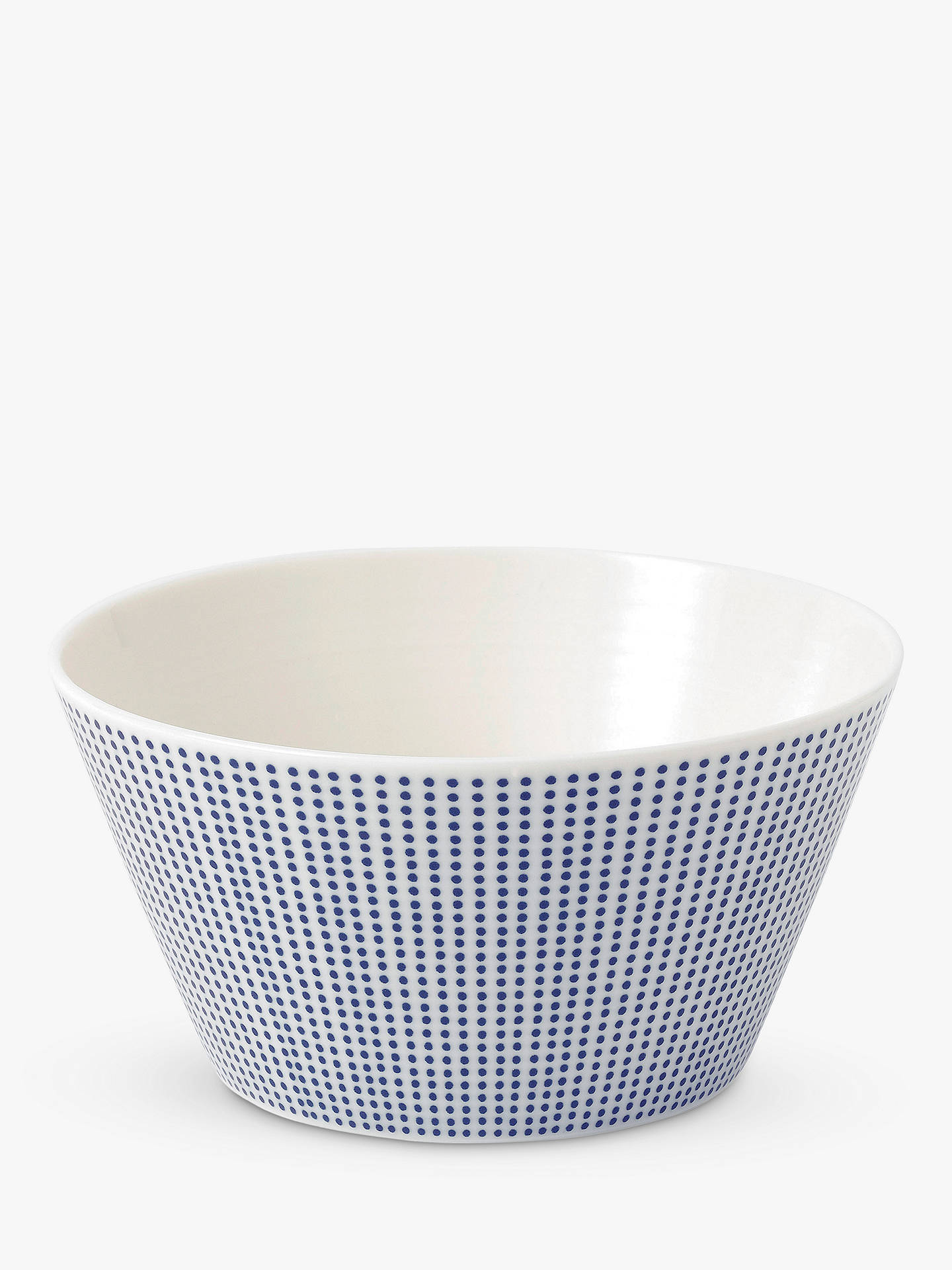 BuyRoyal Doulton Pacific Porcelain Cereal Bowl, 640ml, Blue Online at johnlewis.com
