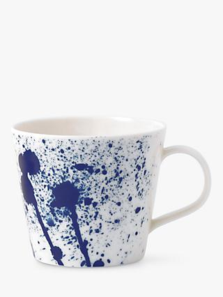 Royal Doulton Pacific Porcelain Splash Mug, Blue, 300ml