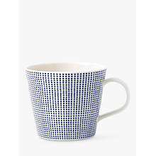 Buy Royal Doulton Pacific Porcelain Dot Mug, Blue Online at johnlewis.com