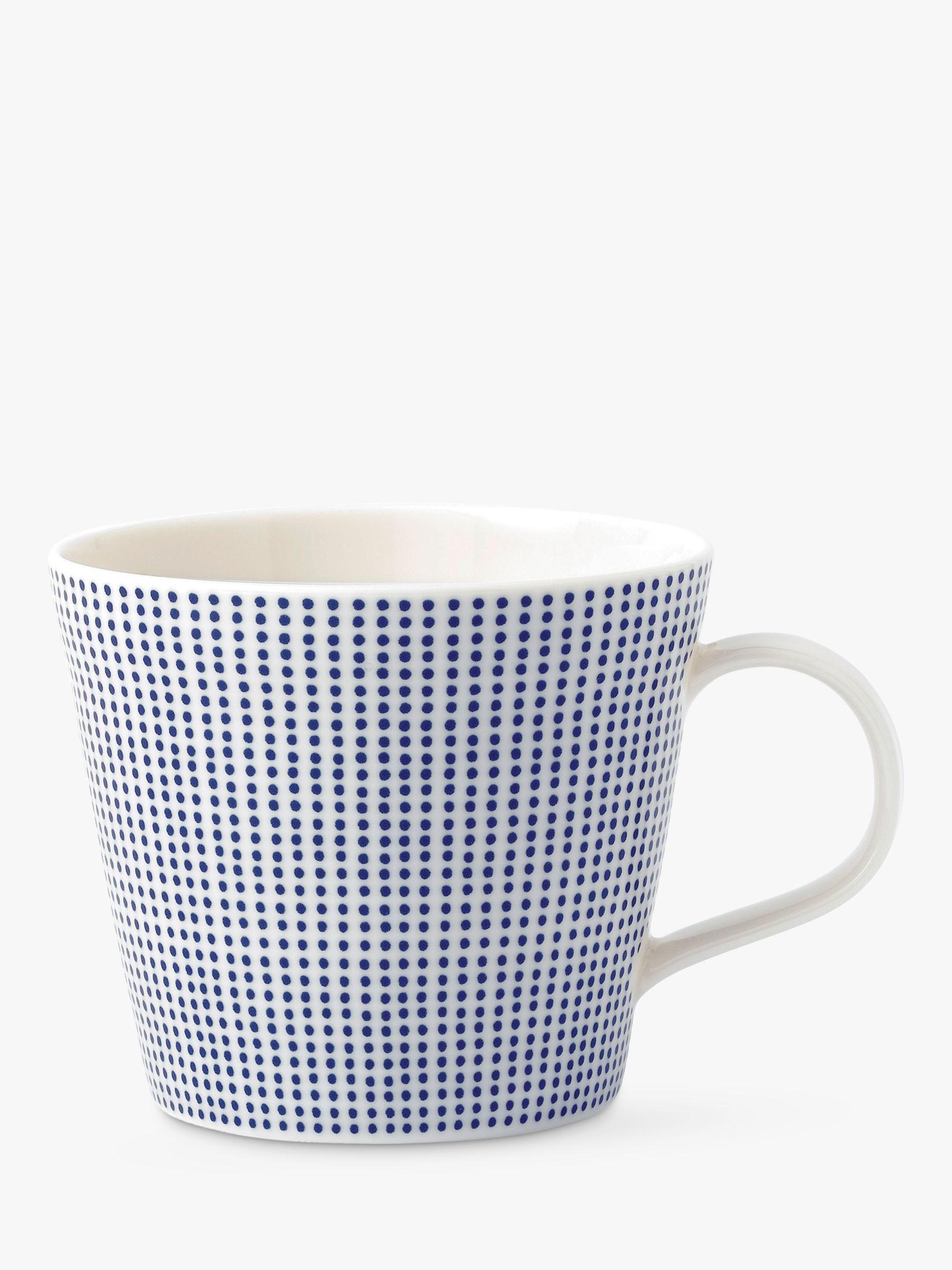 Royal Doulton Royal Doulton Pacific Porcelain Dot Mug, Blue, 300ml