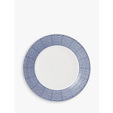 Buy Royal Doulton Pacific Porcelain 23.5cm Side Plate, Blue Online at johnlewis.com