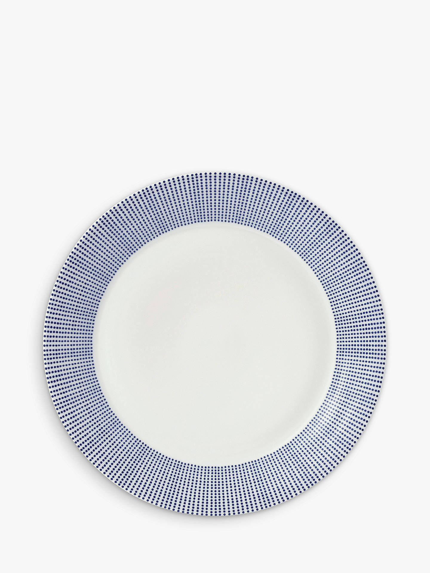 BuyRoyal Doulton Pacific Porcelain 28.5cm Dinner Plate, Blue Online at johnlewis.com