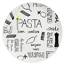 Buy John Lewis Italian Single 19.5cm Side Plate Online at johnlewis.com
