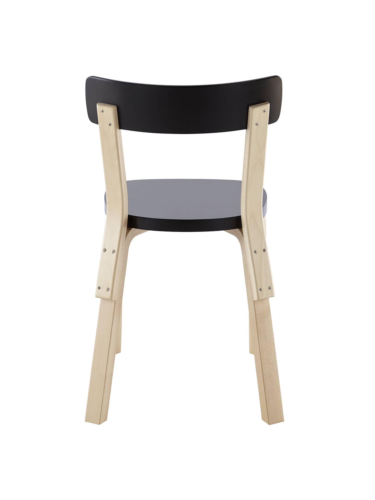 BuyArtek Chair 69, Birch / Black Online at johnlewis.com