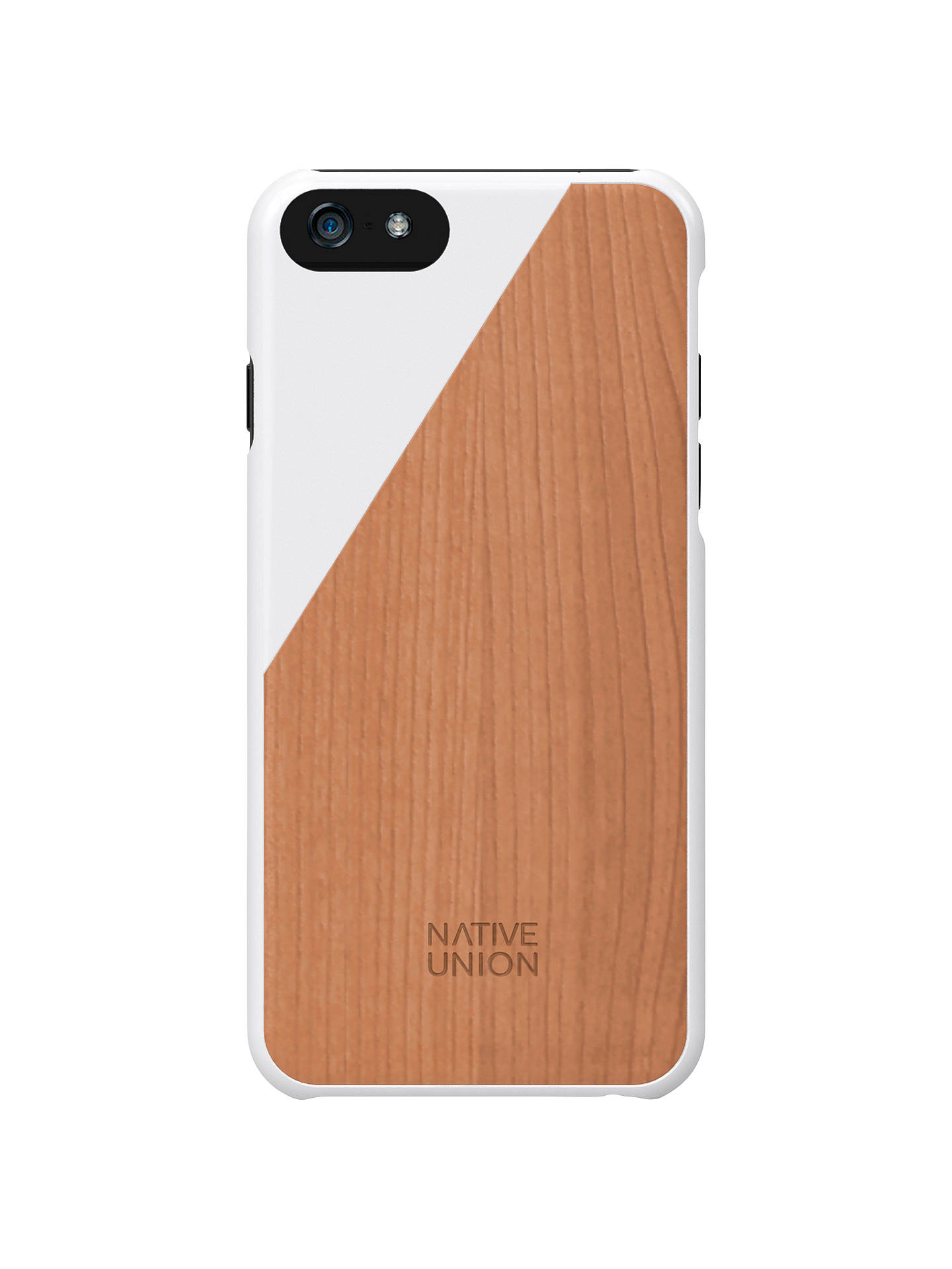 the best attitude b9bdc 6a09e Native Union Clic Wooden Case for iPhone 6 at John Lewis & Partners