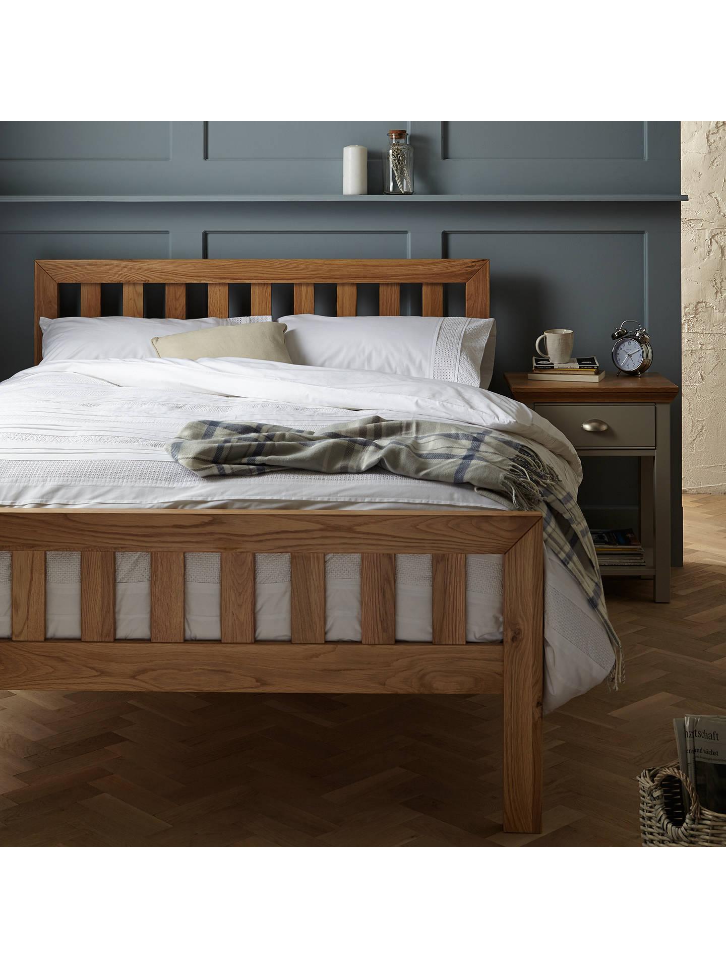 online retailer 3048e eb749 John Lewis & Partners Cooper Bed Frame, King Size, Oak