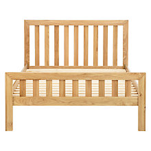 Buy John Lewis Cooper Bed Frame, Double, Oak Online at johnlewis.com