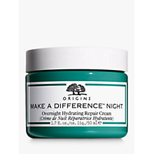 Buy Origins Make a Difference™ Overnight Hydrating Repair Cream Online at johnlewis.com