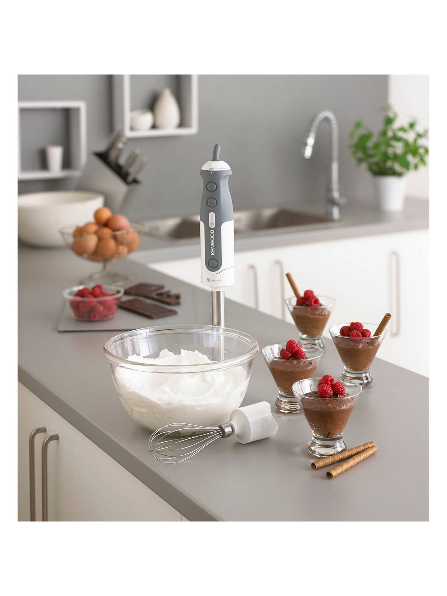 Buy Kenwood HDP406WH Triblade Hand Blender Online at johnlewis.com