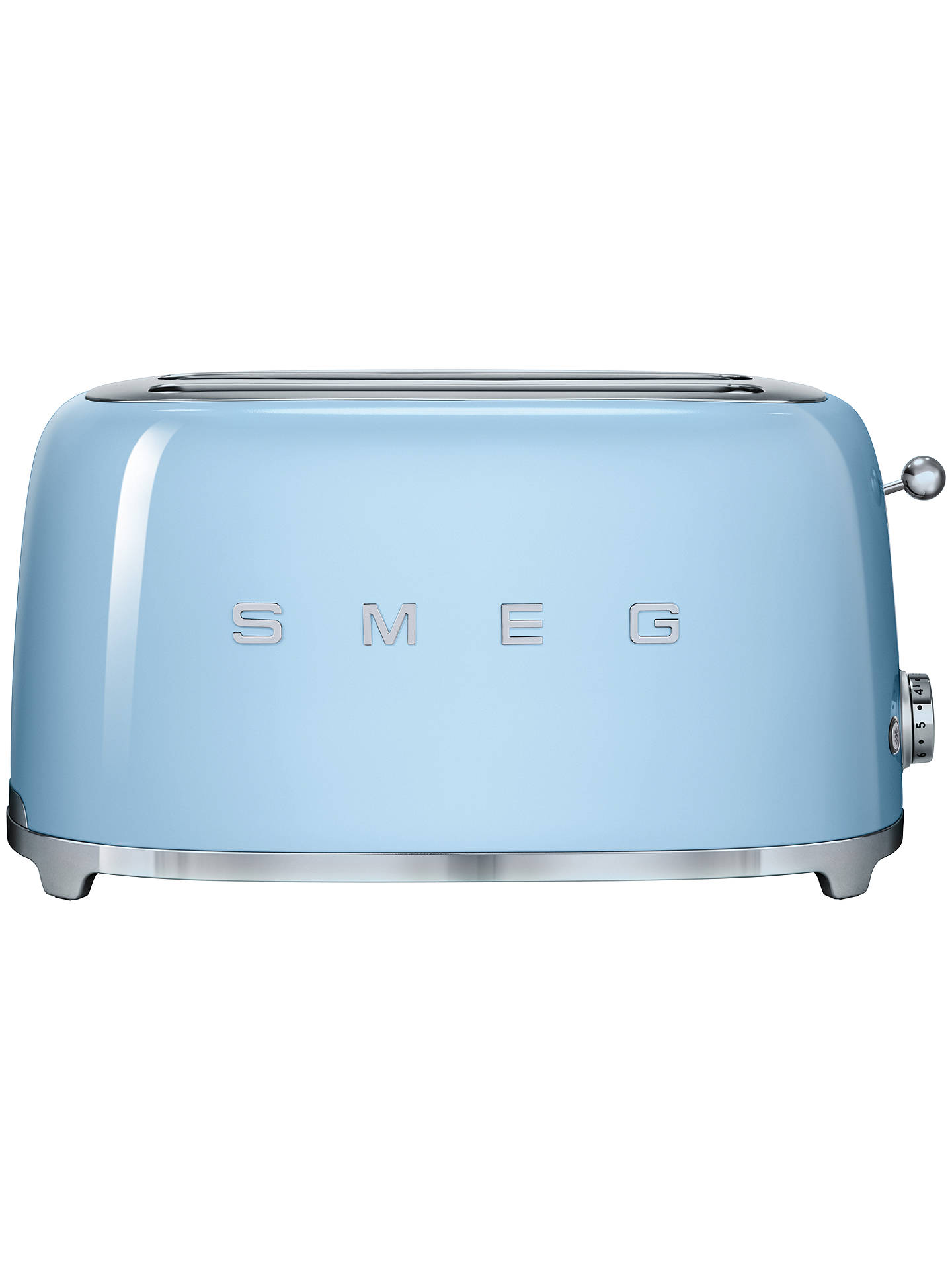 BuySmeg TSF02 4-Slice 2-Slot Toaster, Pastel Blue Online at johnlewis.com