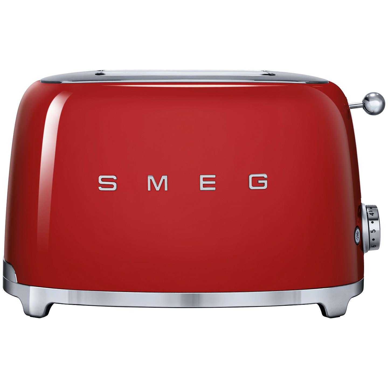 smeg tsf01 2 slice toaster red at john lewis. Black Bedroom Furniture Sets. Home Design Ideas