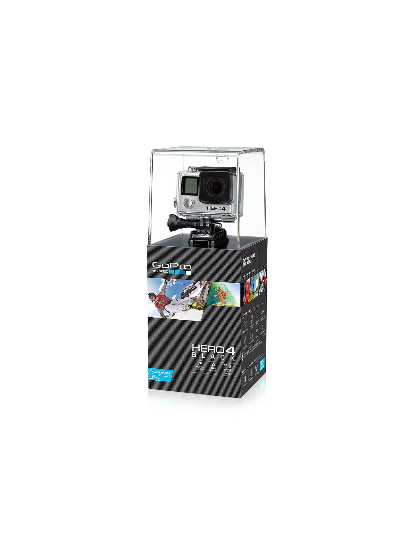GoPro Hero4: Black Edition Camcorder, 4K Ultra HD, 12MP ...