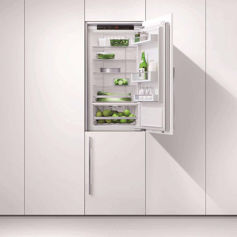 ... BuyFisher U0026 Paykel RB60V18 Integrated Fridge Freezer, A++ Energy  Rating, 55cm Wide Online At ...