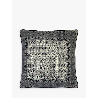 John Lewis Aztec Patch Large Cushion