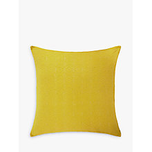 Buy John Lewis Isana Fusion Large Cushion, Saffron Online at johnlewis.com
