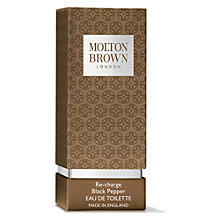 Buy Molton Brown Black Peppercorn Eau de Toilette, 50ml Online at johnlewis.com