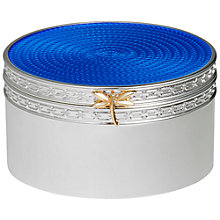 Buy Vera Wang for Wedgwood Silver Plated Treasures Box Online at johnlewis.com