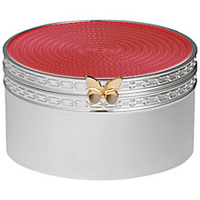 Buy Vera Wang Silver Plated Treasures Box Online at johnlewis.com