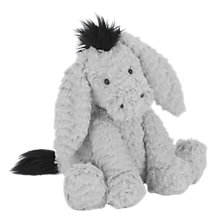 Buy Jellycat Fuddlewuddle Donkey Soft Toy, Medium, Grey Online at johnlewis.com