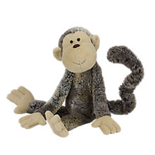 Buy Jellycat Long Legs Mattie Monkey Soft Toy, Medium, Brown Online at johnlewis.com