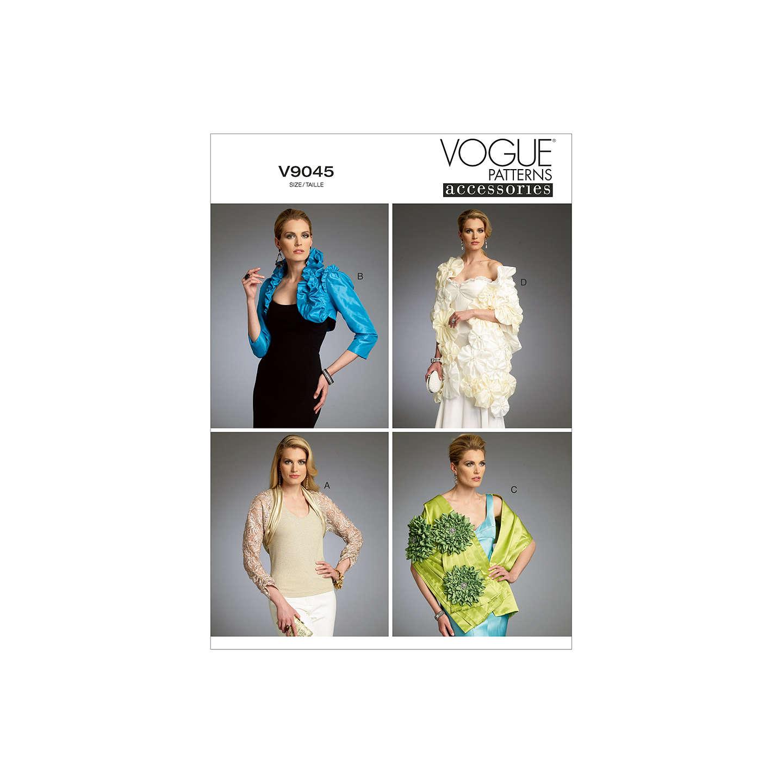 Vogue womens shrug bolero and wrap sewing pattern 9045 at john buyvogue womens shrug bolero and wrap sewing pattern 9045 y online at johnlewis jeuxipadfo Choice Image