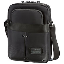 Buy Samsonite Cityvibe Tablet Cross Body Bag, Black Online at johnlewis.com