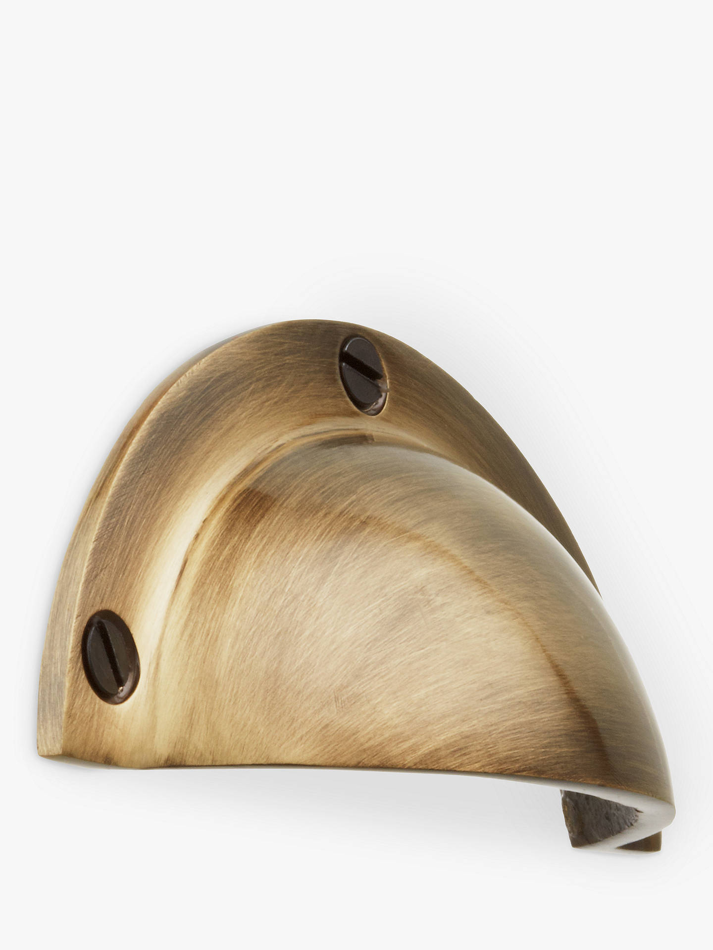 BuyJohn Lewis & Partners Cup Drawer Pull, Antique Brass Online at johnlewis.com