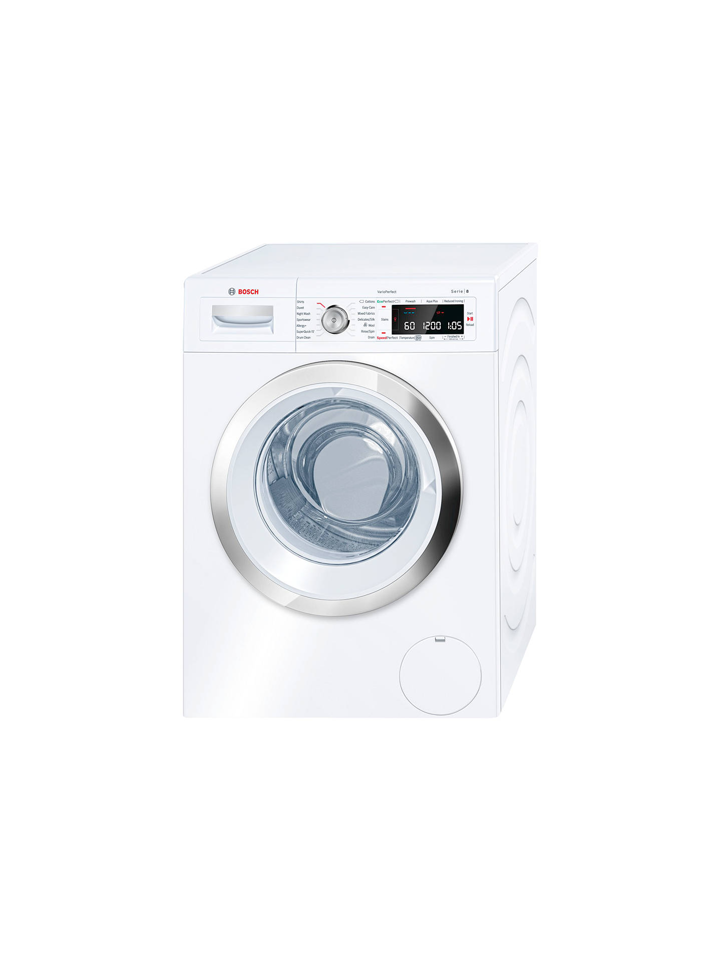 BuyBosch Logixx WAW28560GB Freestanding Washing Machine, 9kg Load, A+++  Energy Rating, 1400rpm Spin ...