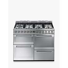 Buy Smeg SYD4110 Symphony Dual Fuel Range Cooker Online at johnlewis.com