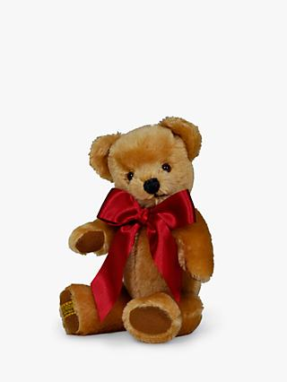 Merrythought London Gold Teddy Bear Soft Toy, Small