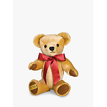 Buy Merrythought London Gold Teddy Bear with Growl, H42cm Online at johnlewis.com