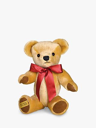 Merrythought London Gold Teddy Bear with Growl Soft Toy