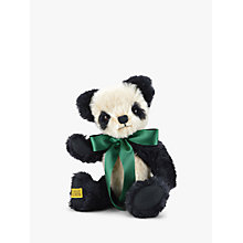 Buy Merrythought Antique Panda Teddy Bear, H35cm Online at johnlewis.com